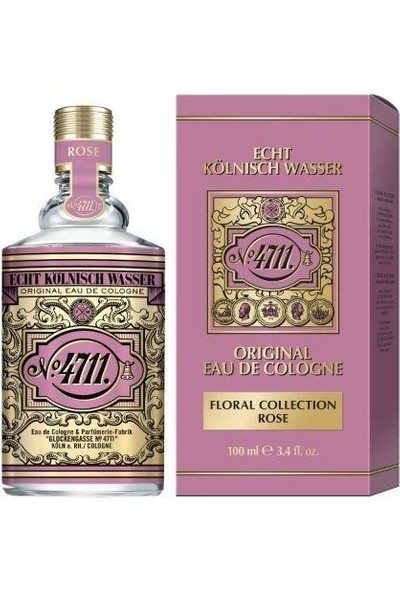 4711 Original Eau De Cologne Floral Collection Rosel Edc 100 ml Kadın-Erkek