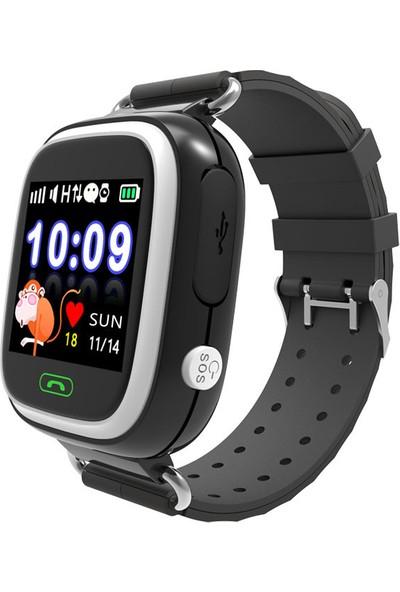 Smartbell Q90/2019 Sim Kartlı Akıllı Çocuk Saati - Siyah