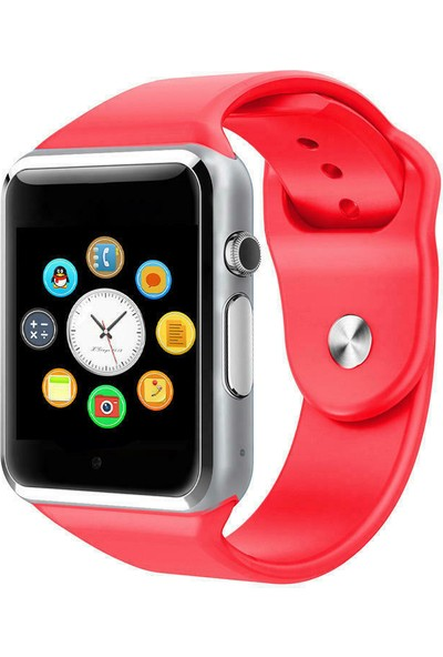 Smartbell Q40/2020 Sim Kartlı Akıllı Çocuk Saati-Kırmızı