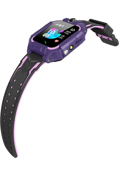 Smartbell Q500/2020 Sim Kartlı Akıllı Çocuk Saati - Mor