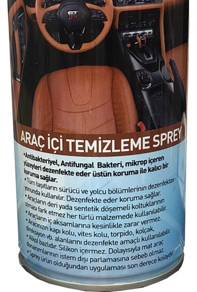 Helper Antibakteriyel Araç Içi Döşeme Koltuk Temizleme Spreyi 500 ml