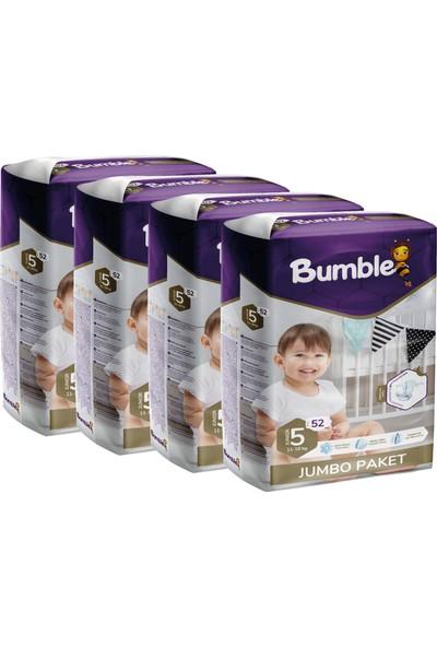 Bumble Bebek Bezi 5 Numara Junior 4'lü Jumbo Paket 52 x 4 = 208'LI