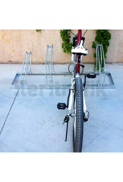 İleritrafik Bisiklet Park Yeri Dörtlü Galvaniz 40x140 cm