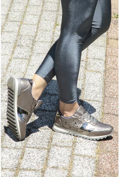 Crash Kadın Sneaker 1456 Kurşun 40