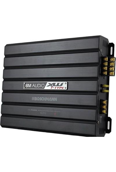Bm XW-4399 4X75W 1700W Profesyonel Oto Amfi 4kanal