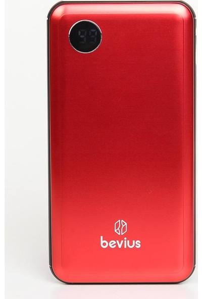 Bevius 10000 mAh Powerboost Digital Göstergeli Powerbank