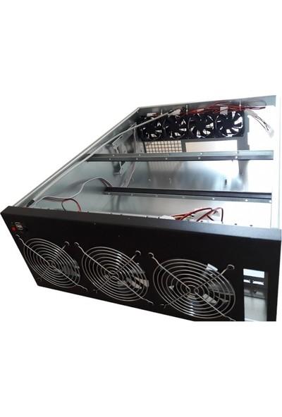 TGC TGC-D600 4u 6 GPU Mining Server Kasa (PSU Yok)