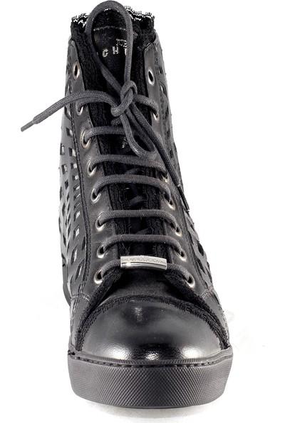 John Richmond Kadın Bot Siyah 033779D