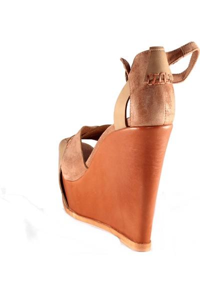 Lorenzo Mari Kadın Topuklu Sandalet Mavi 1383