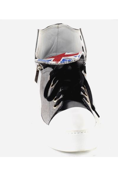 John Richmond Erkek Spor Ayakkabı Gri 2604