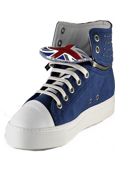 John Richmond Erkek Spor Ayakkabı Mavi 2604