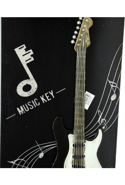 MNK Pano Siyah Gitar