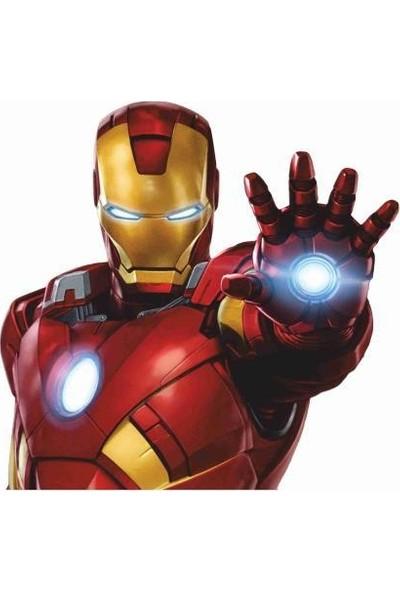 StickerMarket Marvel Ironman Oto, Duvar Sticker