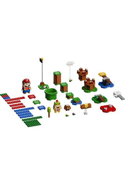 LEGO® Super Mario™ 71360 Mario ile Maceraya Başlangıç Seti Yapım Seti Çocuklar için Koleksiyonluk Yaratıcı Oyuncak (231 Parça)