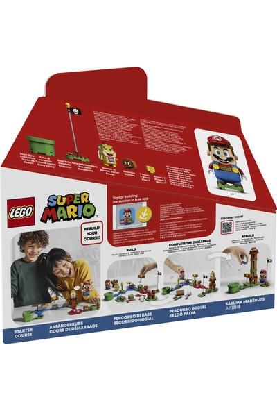 LEGO® Super Mario™ 71360 Mario ile Maceraya Başlangıç Seti Yapım Seti Çocuklar için Koleksiyonluk Yaratıcı Oyuncak Hediyesi (231 Parça)