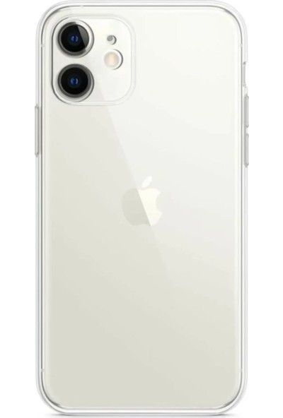 Nomino Apple iPhone 11 Silikon Koruma Kılıfı Şeffaf Arka