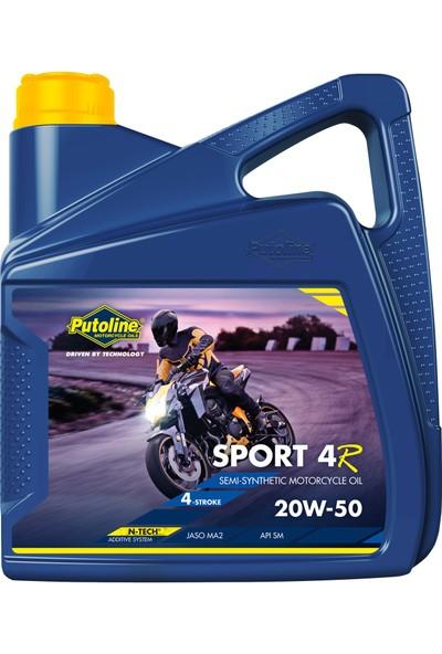 Putoline Sport 4r 20W-50 Motor Yağı 4 lt