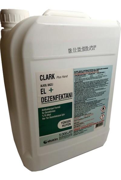 Clark Plus Hand Alkol Bazlı El Dezenfektanı 5 Lt