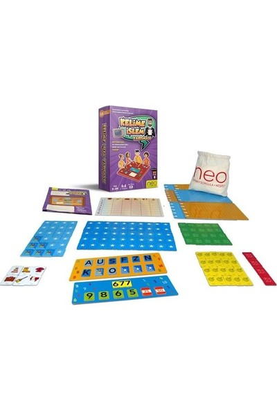 Neo-Toys Kelime İşlem Yarışması 9-99 Yaş