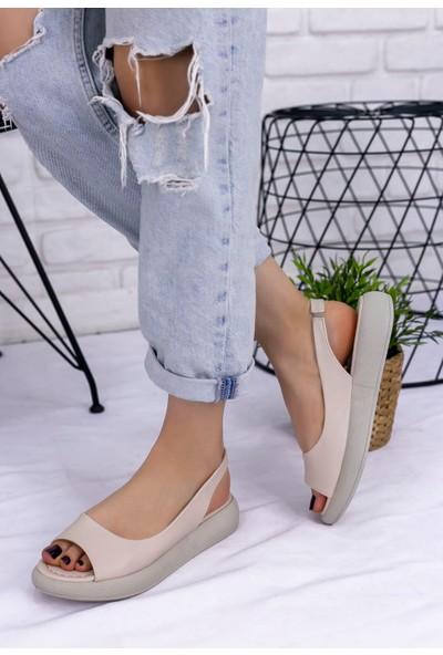 Pabucmarketi Kadın Comfort Sandalet