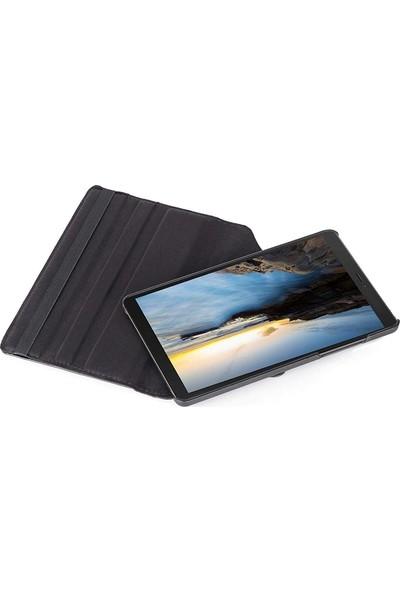 Case Street Samsung Galaxy Tab S6 Lite P 610 Kılıf Dönerli Standlı Koruma Turkuaz