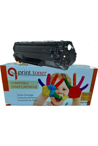 QPrint Hp 285 -435 - 436 Universal Muadil Toner 1600 Sayfa