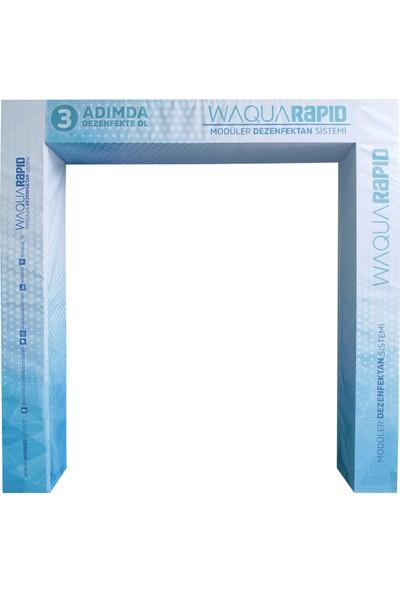 Waqua Rapid Dezenfektan Kabini Tüneli