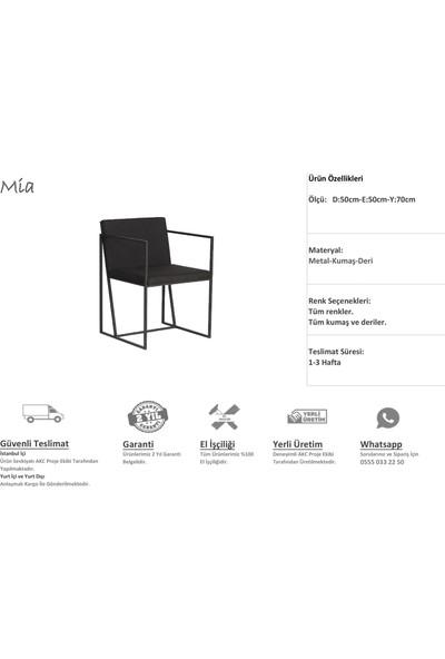 Akc Proje Mia Sandalye