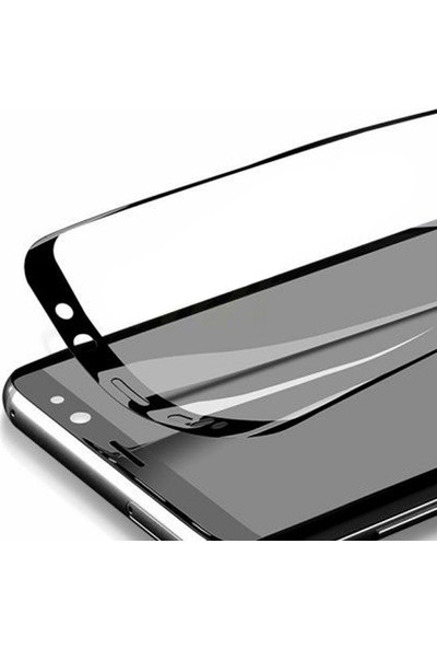 Case Street Samsung Galaxy M31 Full Kapatan Fiber Nano Ekran Koruma Siyah