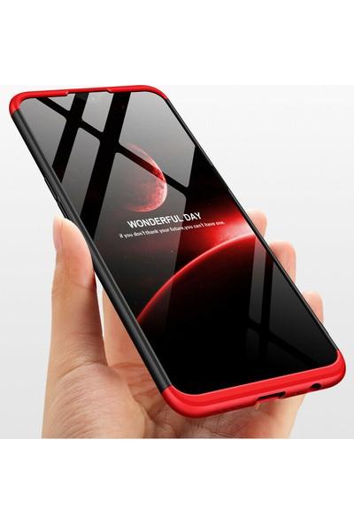 Happyshop Realme 5i Kılıf 3 Parça 360 Zore Ays Kapak + Nano Cam Ekran Koruyucu