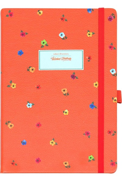 Victoria's Journals Mini Flowers Noktalı Bloknot 14 x 20 cm