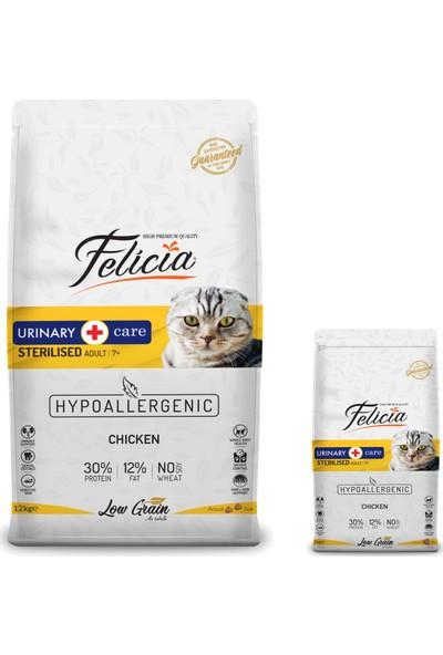 Felicia Tavuklu Light&sterilised Kedi Maması 12 kg + 2 kg