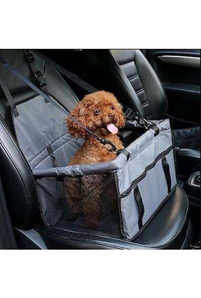 White Süs Araç İçi Kedi Köpek Taşıma Seyahat Çantası Su Geçirmez