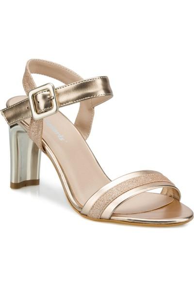 Polaris 315268.Z Rose Gold Kadın Topuklu Sandalet