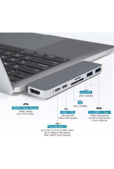 Hyperdrive Usb-C Hub Best Type-C Duo Adaptör 50 Gbps