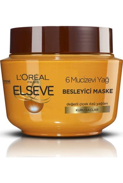 L'Oréal Paris Elseve 6 Mucizevi Yağ Besleyici Maske 300 ml