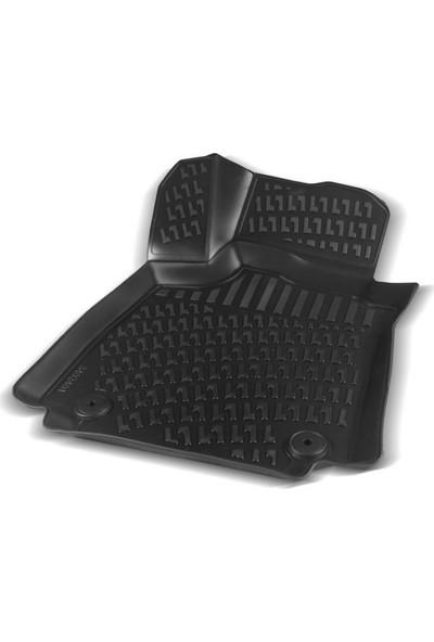 Rizline Fiat Doblo 2000-2009 3D Havuzlu Paspas