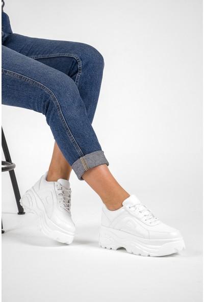 Ayax 190702 Beyaz Kadın Sneaker