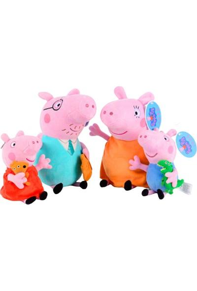 Schulzz Peppa Pig Ailesi Peluş Oyuncak
