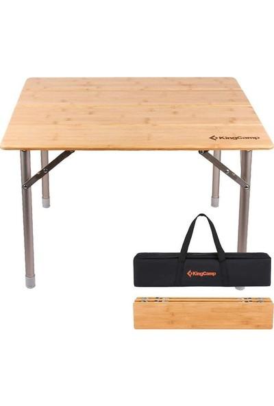 King Camp Table S Bamboo Katlanabilir Masa