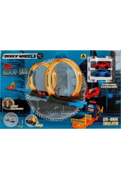 Maxx Wheels 2'li Loop Atlayış Pist Seti