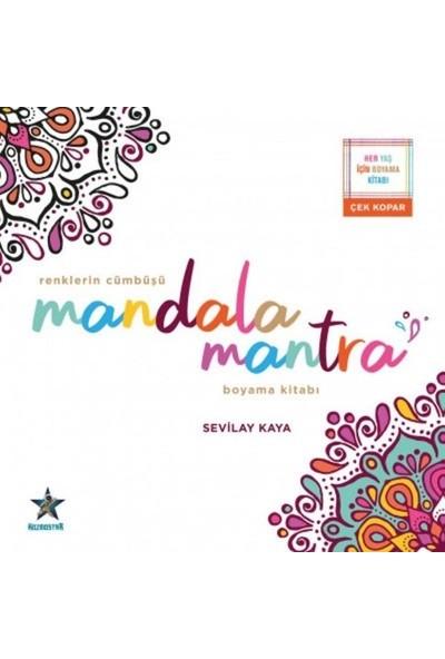 Renklerin Cümbüşü Mandala Mantra Boyama Kitabı - Sevilay Kaya