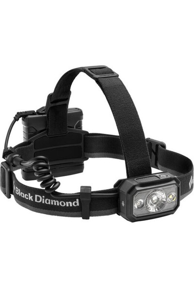 Black Diamond Icon 700 Headlamp Outdoor Kafa Lambası Koyu Gri