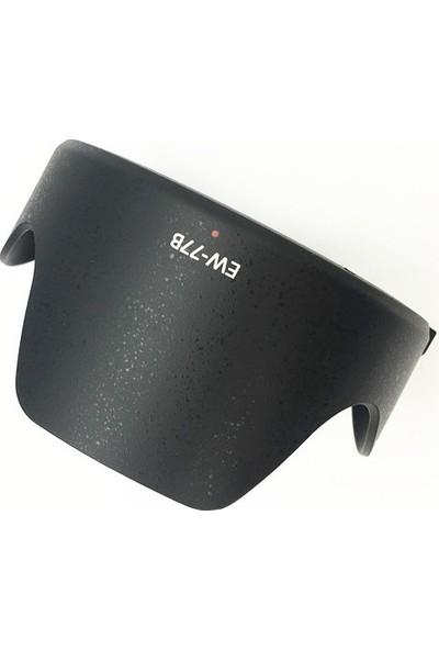 Tewise Canon EW-77B Parasoley Ef 35 mm F1.4l Iı Usm Lens Uyumlu