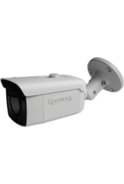 Qromax Pro 6224 16' Lı 5 Megapiksel Sony Lens 1080P Aptina Sensör Metal Kasa Güvenlik Kamerası Seti