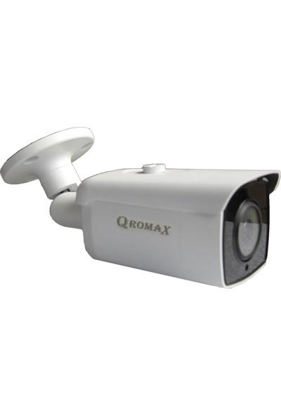 Qromax Pro 6224 6' Lı 5 Megapiksel Sony Lens 1080P Aptina Sensör Metal Kasa Güvenlik Kamerası Seti