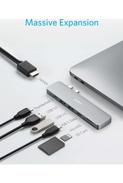 Anker Power Expand Direct USB C Adaptörü (Yurt Dışından)