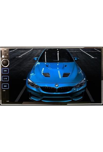 Bm Audio MS9302 / USB / Bluetooth Çalar Double Oto Teyp Mirrorlink