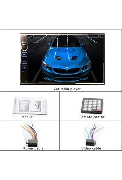 Bm Audio MS9302 / USB / Bluetooth Çalar Double Oto Teyp Mirrorlink + Geri Görüş Kamera