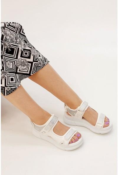 Marjin Viyana Dolgu Sandalet